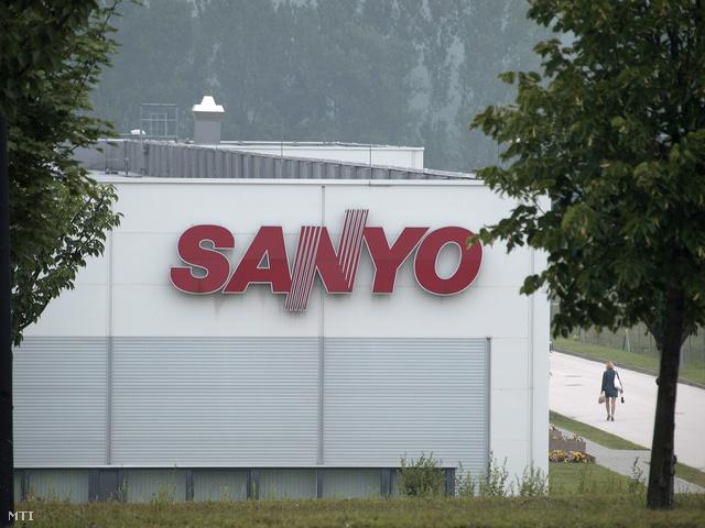 A Sanyo dorogi gyára