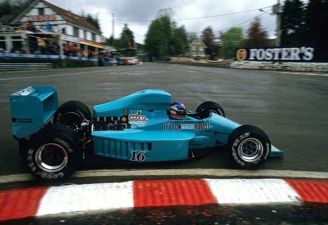 1987, Spa-Francorchamps. Capelli a gyönyörű March 871-essel