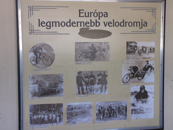 Once it was Europe's most modern velodrom