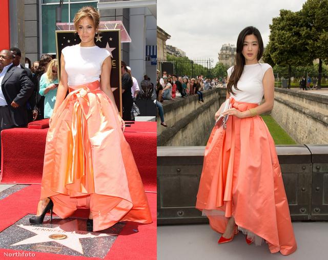 Jennifer Lopez és Xu Jinglei is couture-ben parádézott.