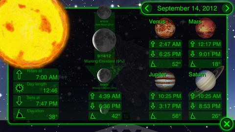 Csillagászati alkalmazások Androidra és más okostelefonokra
