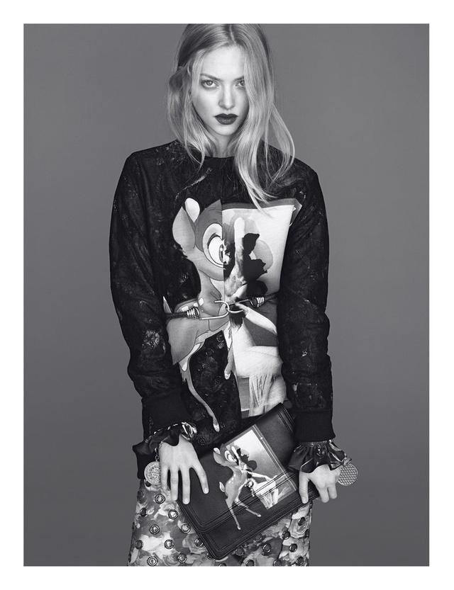 Amanda Seyfried, a bambis kollekció reklámarca.