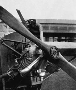 Thoroczkai Delta motor (Fotó: Technikai fejlődésünk története)