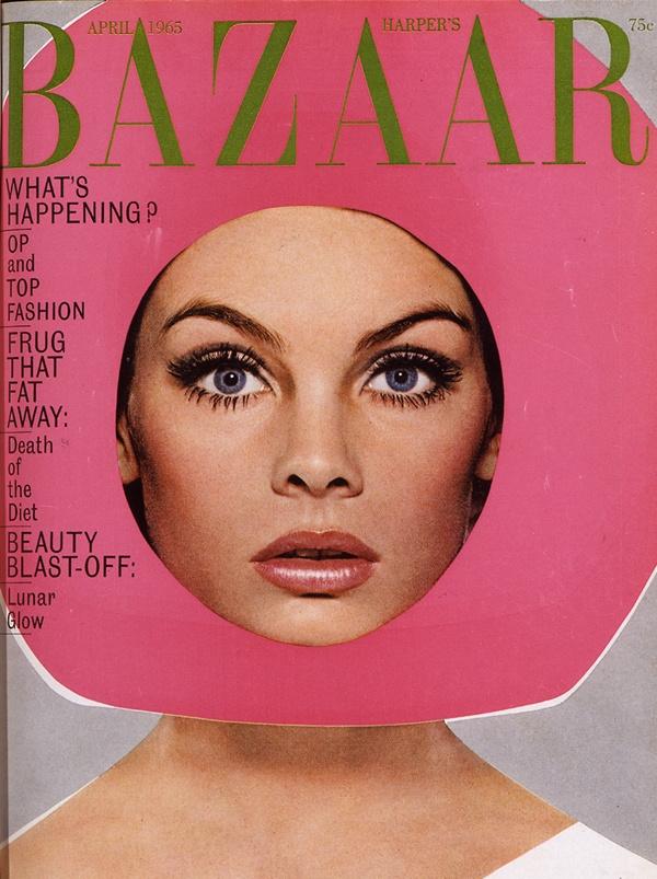 Jean Shrimpton 1965-ben
