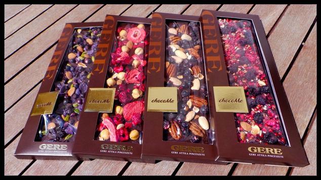 Nem csak finom, egészséges is: minden egyes tábla GERE csokoládéba egy felnőtt ember számára elegendő napi adag szőlőmag mikroőrlemény kerül.