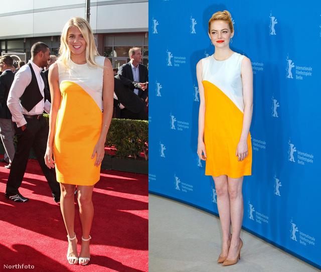 Stephanie Gilmore és Emma Stone is ugyanaz a ruha mellett tették le a voksukat.