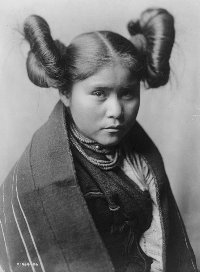 Csaiva, téva lány (1906 körül)