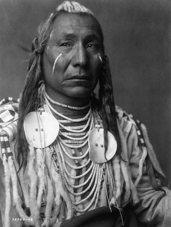 Vörös Szárny – crow (varjú) indián (1908 körül)