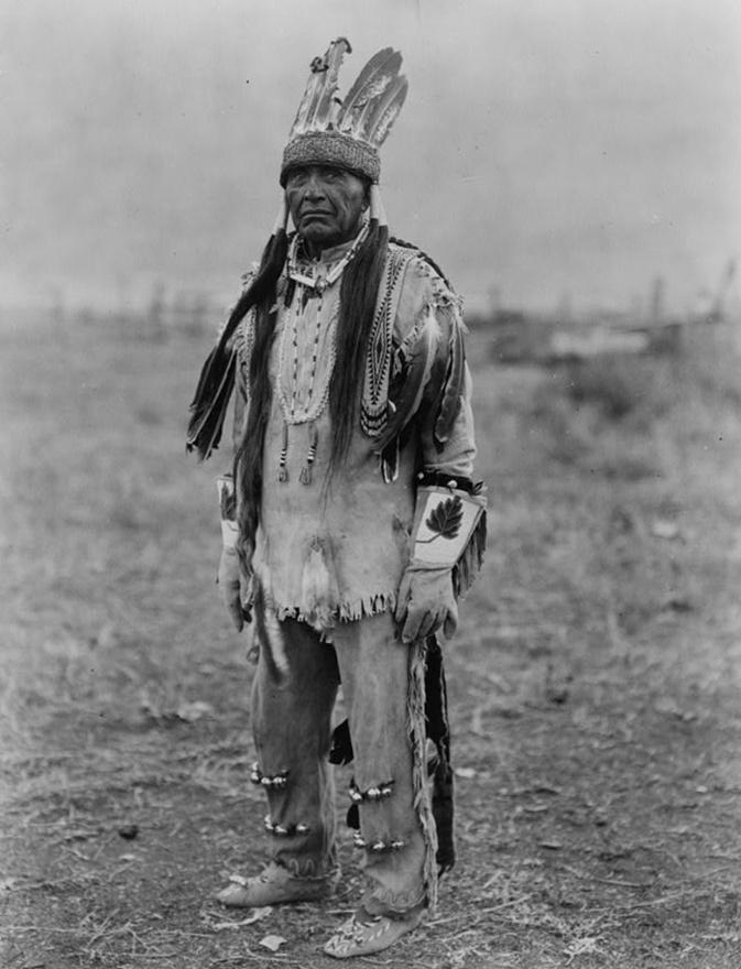 Klamat indián (1923 körül)