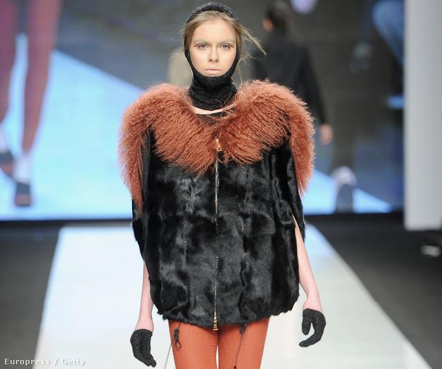 Mauro Gasperi 2012-es őszi-téli modellje.