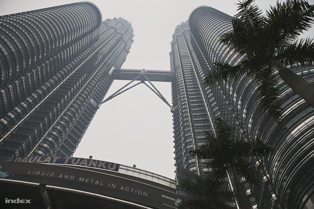 A híres Petronas-ikertornyok