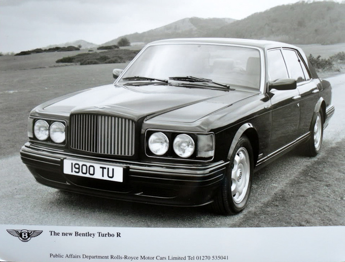 An official pic of the Bentley