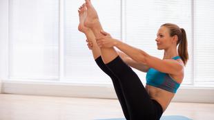 A Bikram jóga egészséges, de nem fogyaszt
