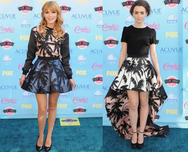 Bella Thorne vs. Lily Collins