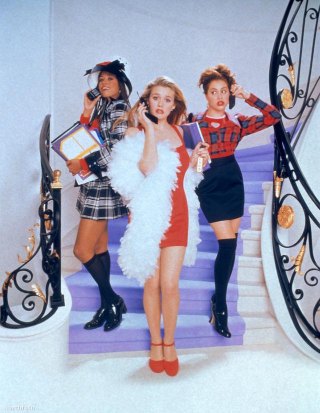 Az 1996-ban forgatott Spinédzserek Alicia Silverstone-al a kor egyik divatfilmjének számított.