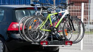 Vonóhorogra biciklit: csak rendőröknek?