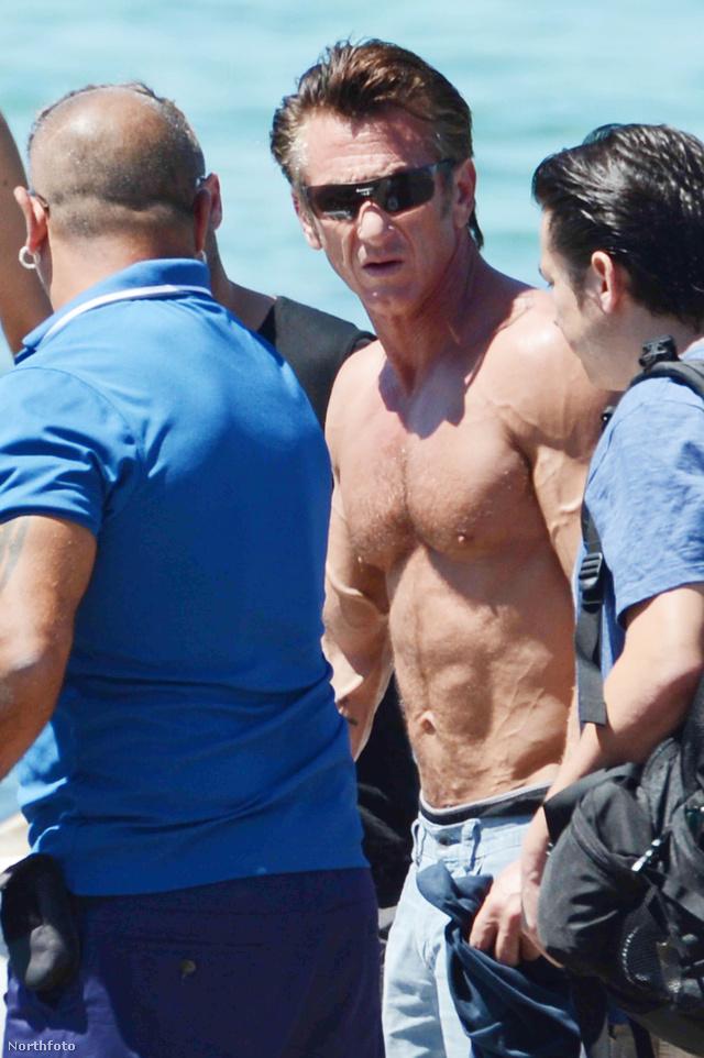 Sean Penn a mólón