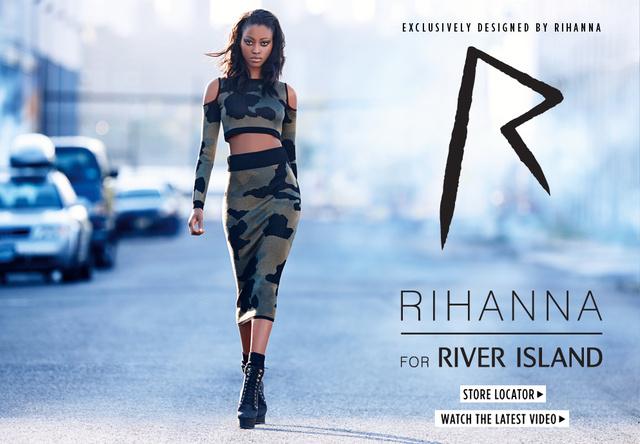 Rihanna szerint ősszel nem fogunk fázni haspólóban.