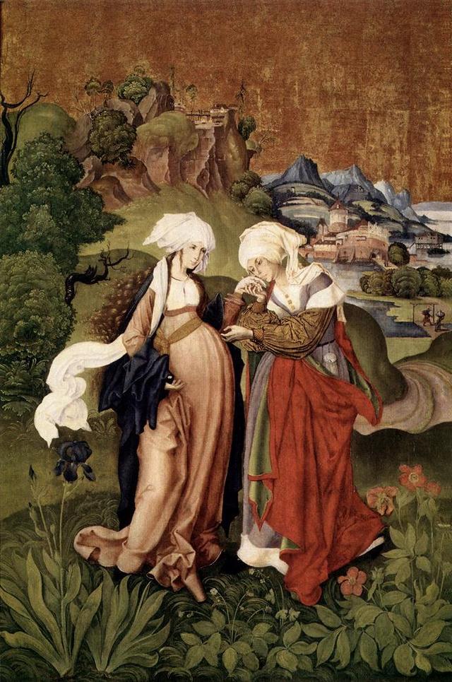 M. S. Mester: Mária és Erzsébet találkozása