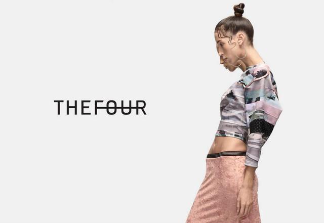 A legtöbb márkához hasonlóan a The Four is a kilencvenes évekből merített inspirációt.
