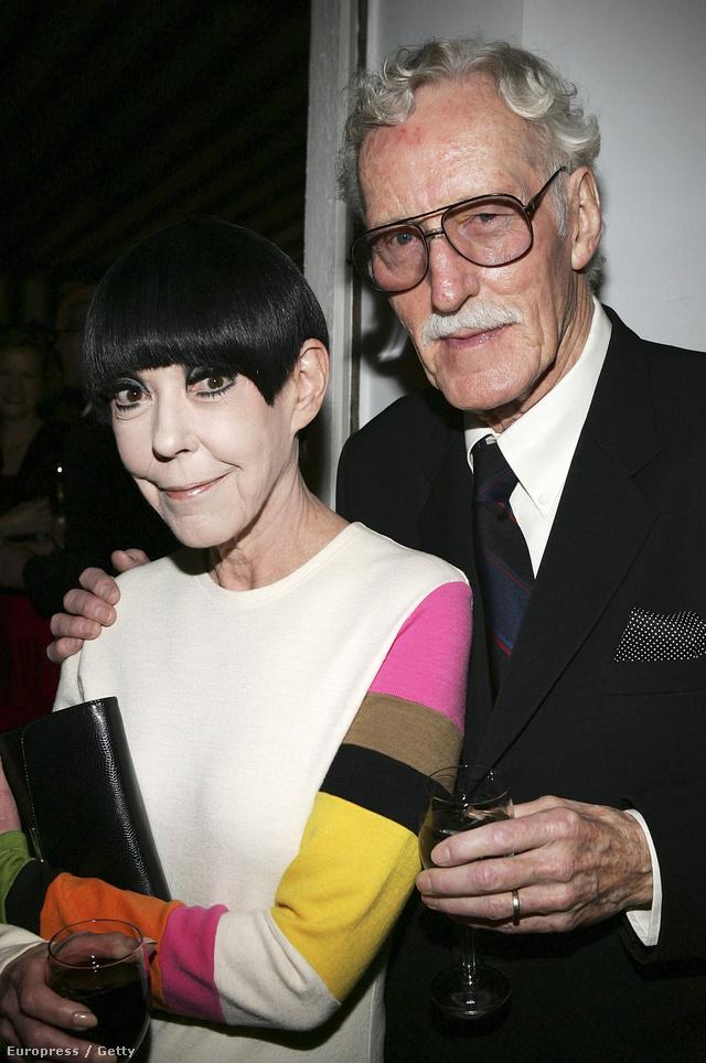 Peggy Moffit és fotós férje William  Claxton 2006-ban.