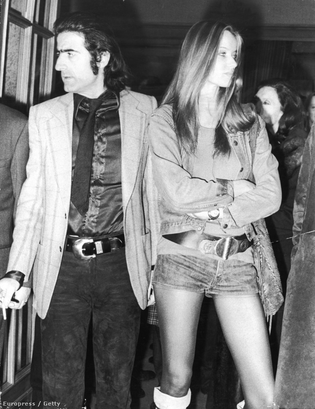 A német grófnőből lett modell, Verushka, és az olasz fotós, Franco Rubartelli 1971-ben.