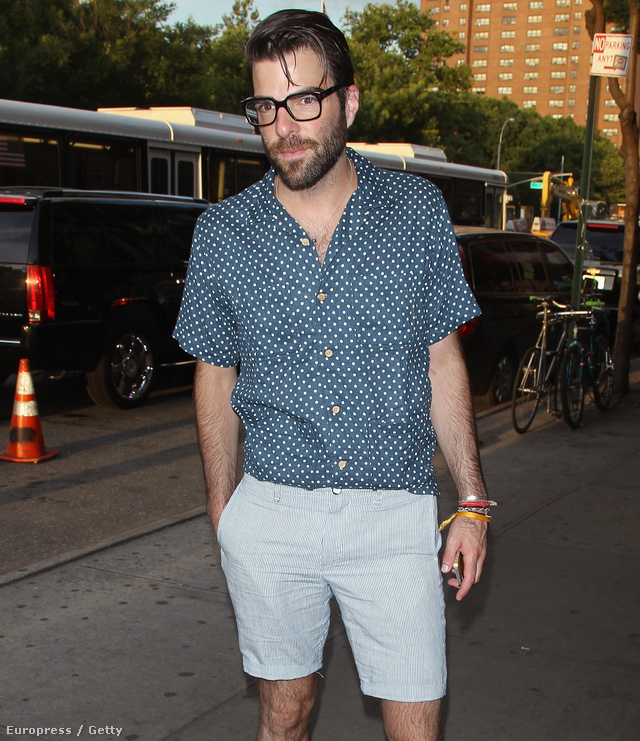 Zachary Quinto New Yorkban