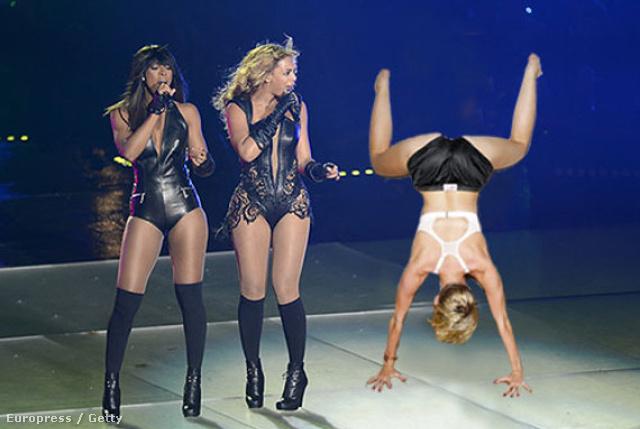 Beyoncé döbbenete.