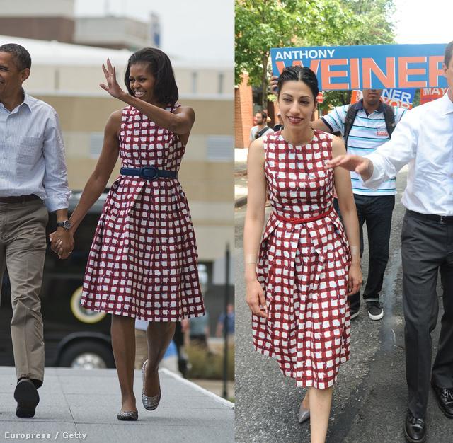 Michelle Obama rengeteg nőt inspirál, köztük - úgy tűnik - Huma Abedint is.