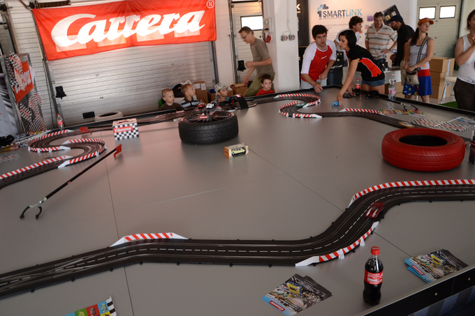 Children's trackday on the Hungaroring shrunk to scale
