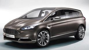 Itt látható következő Ford S-Max