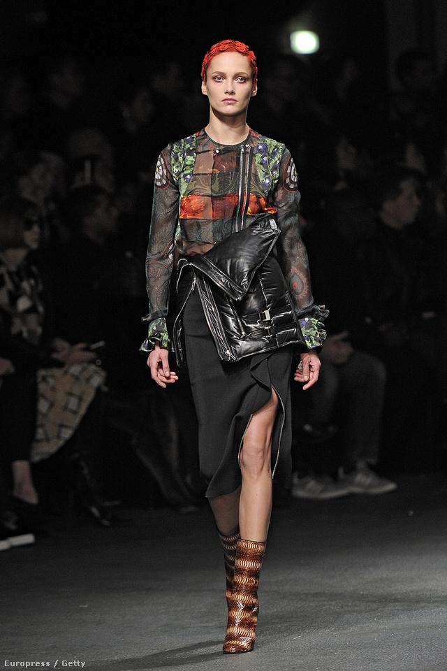 A punkot Riccardo Tisci hozta divatba a Givenchy-val.