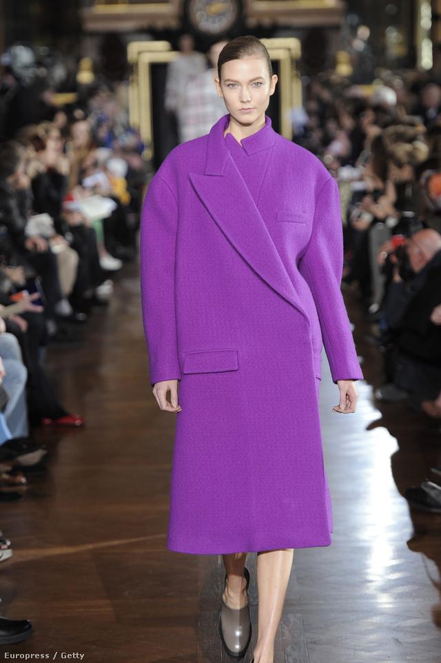 Stella McCartney ezt alkotta kabátfronton.