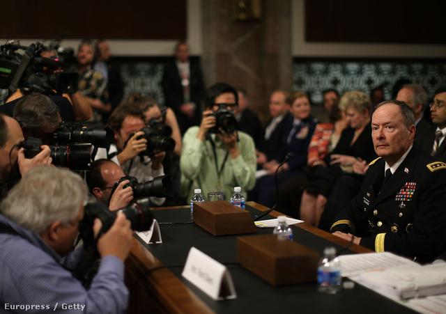 Keith Alexander NSA igazgató szenátusi meghallgatása