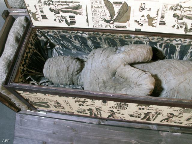 Múmia a padlásról