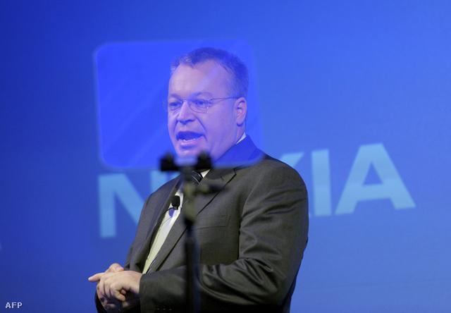 Stephen Elop, a Nokia leköszönt vezérigazgatója