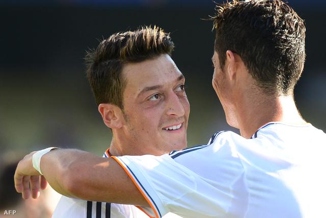 Özil és Ronaldo