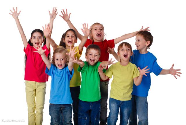 Ennyire örülnek a gyerekek, hogy pénteken nyolcadik órában van tesi