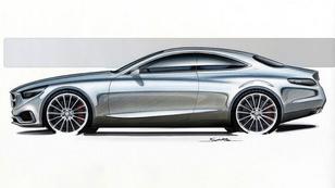 Gyönyörű lesz a nagy Mercedes kupé
