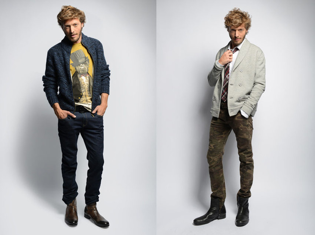 Két fotó a Promod új lookbookjából. Nem esett le az állunk.