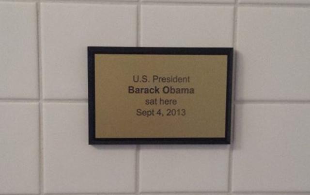obama toilet