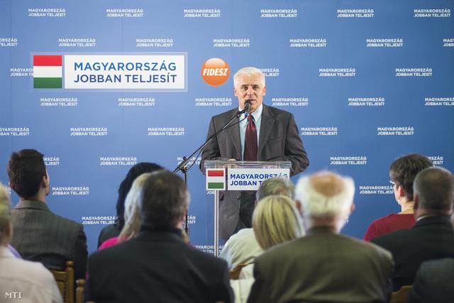 Kovács Ferenc Nyíregyháza polgármestere.