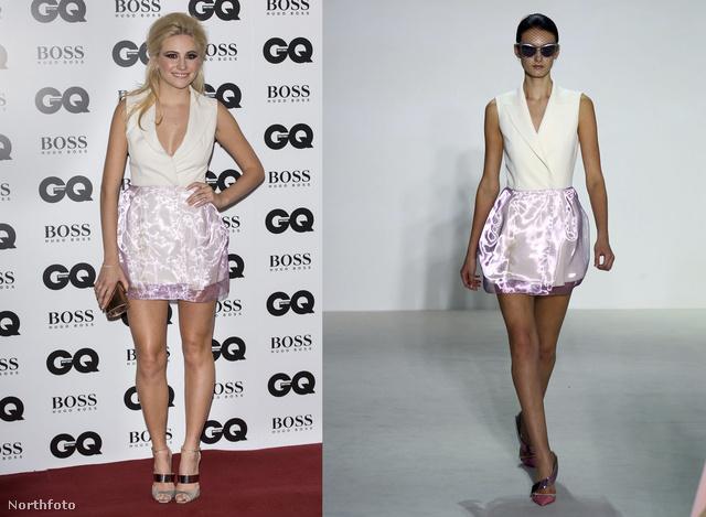 Pixie Lott egy Christian Dior-ruhakölteményt választott.