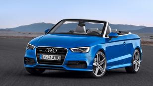Gyári képeken az új Audi A3 kabrió