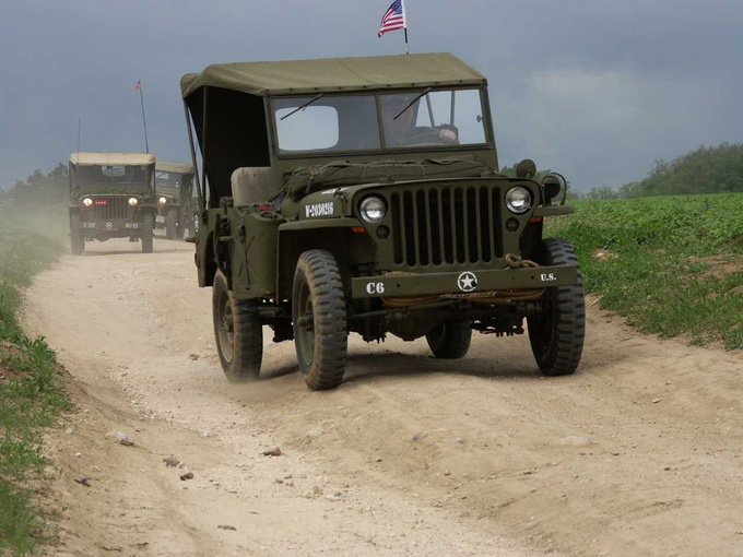 The legendary Willys Jeep, mother of all off-road vehicles