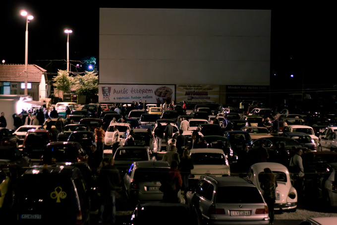 Real Drive-in Movie experience