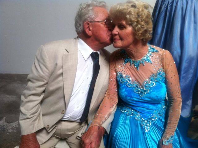 Paul Brockmann és neje 56 éve házasok
