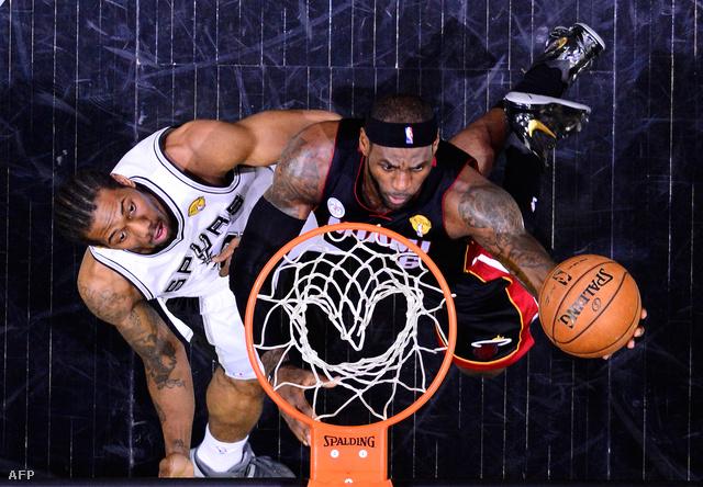 LeBron James és Kawhi Leonard