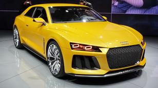 Az Audi nagy villantása