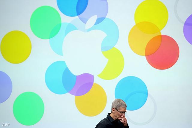 Tim Cook a 2013. szeptemberi Apple Keynote-on